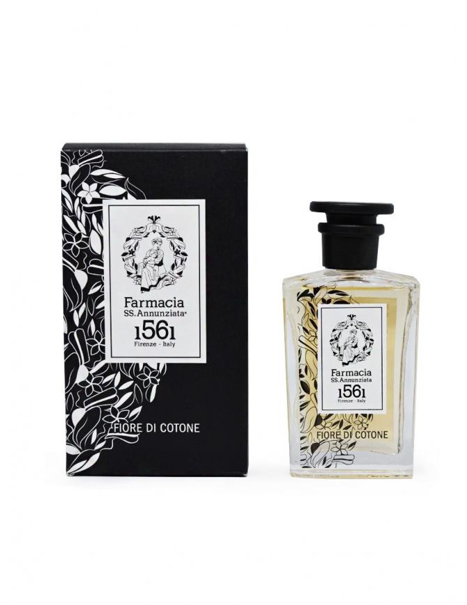 Farmacia SS. Annunziata Fiore di Cotone eau de parfum 100ml 803 - FIORE DI COTONE EDP perfumes online shopping