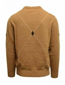 Ballantyne Raw Diamond pullover girocollo color cammello