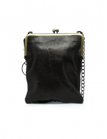 Kapital wallet clutch bag in leather with chain