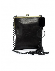 Kapital wallet clutch bag in leather with chain K2104XG538 BLACK order online