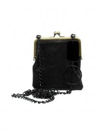 Kapital wallet clutch with metal chain K2104XG537 BLACK order online