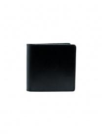 Kapital men's wallet in black leather with smile K2103XG528 BLACK order online