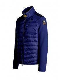 Parajumpers Jayden intense blue down jacket with fabric sleeves price