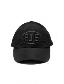 Parajumpers PJS CAP cappellino nero in nylon