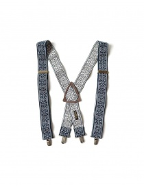 Kapital suspenders in navy blue color K2105XG559 NAVY order online
