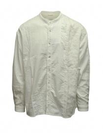 Camicie uomo online: Kapital camicia bianca KATMANDU collo coreano