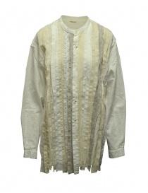 Kapital OX cloth HOBO dress band collar oversized shirt K2103LS045 WHITE order online