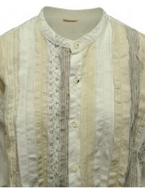 Kapital OX cloth HOBO dress band collar oversized shirt