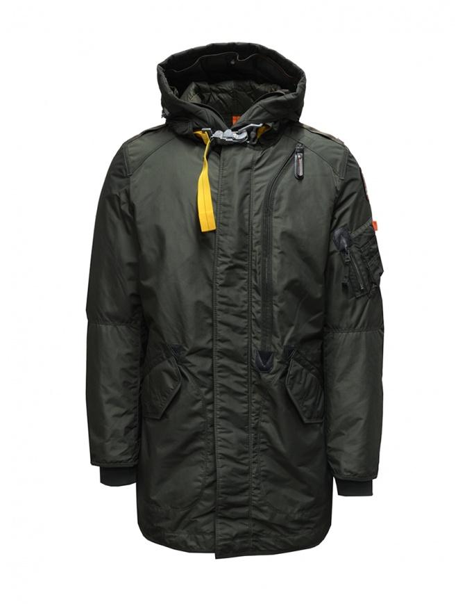 Parajumpers Tank green parka PMJCKMB07 TANK BASE SYCAMORE 764 mens jackets online shopping