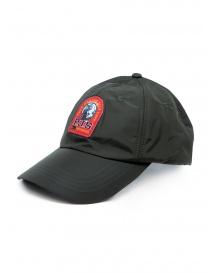 Parajumpers cappello impermeabile verde con logo rosso online