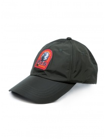 Parajumpers green waterproof cap with red logo online