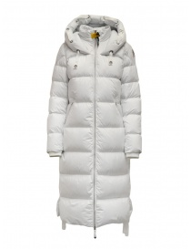 Parajumpers Panda long white down jacket online