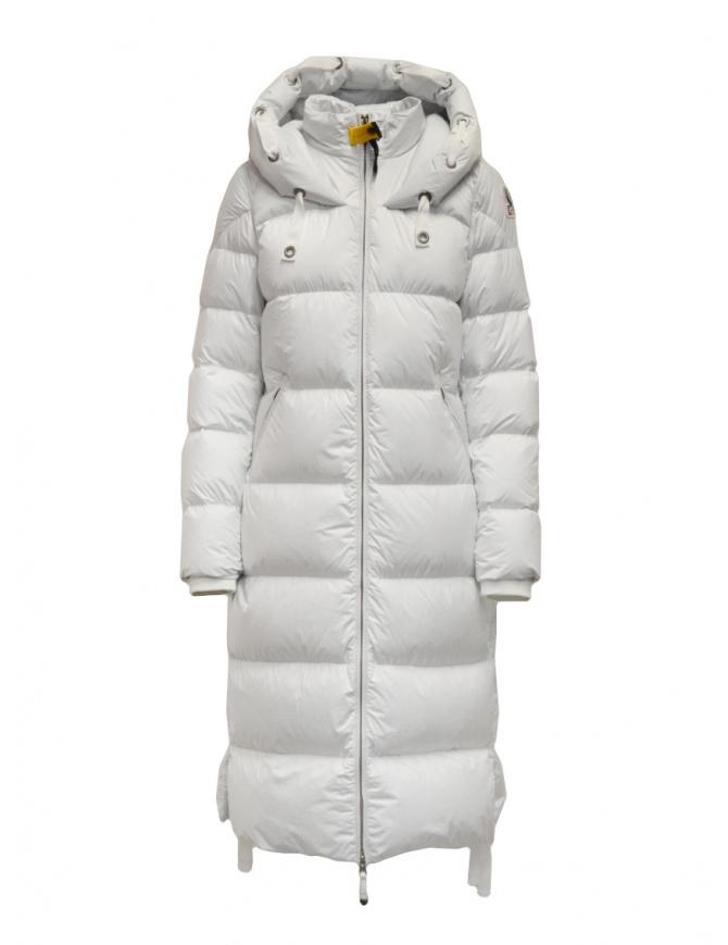 Parajumpers Panda long white down jacket PWJCKBY31 PANDA OFF WHITE 505 womens coats online shopping