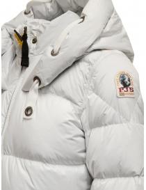 Parajumpers Panda long white down jacket womens coats price