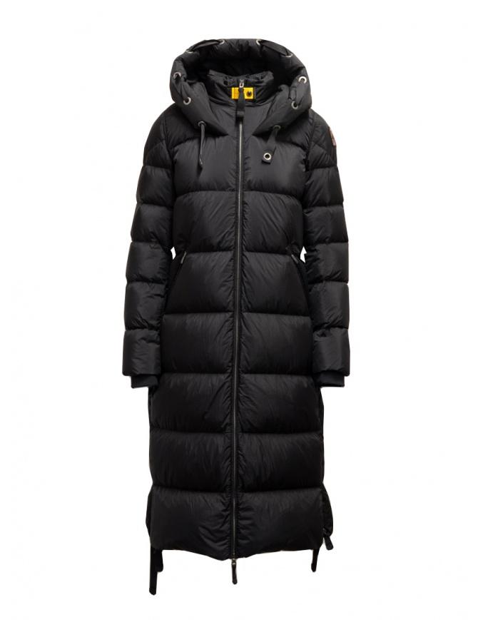 Parajumpers Panda long down jacket black PWJCKEL31 PANDA BLACK 541 womens coats online shopping