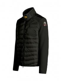 Parajumpers Jayden sycamore down jacket with fleece sleeves