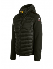 Parajumpers Nolan sycamore hooded down jacket fabric sleeves price