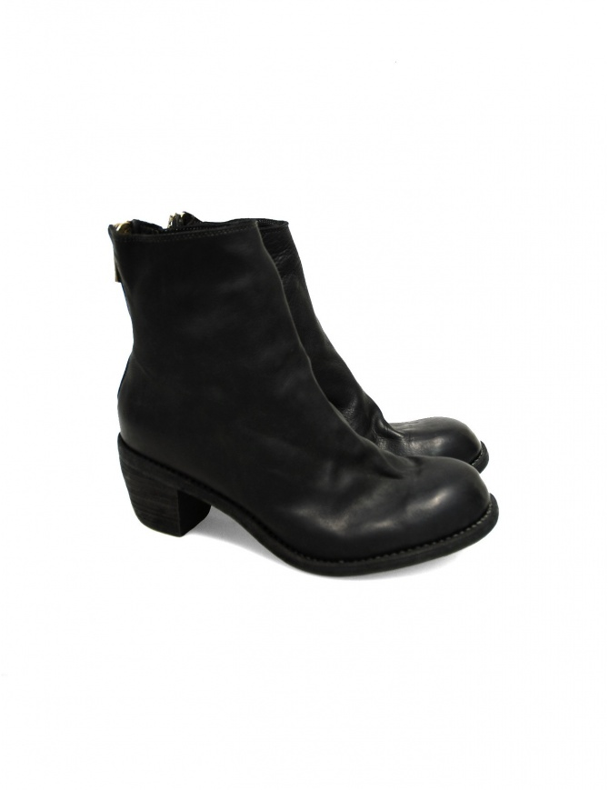 Stivaletto Guidi 4006 in pelle nera 4006 BLKT HORSE calzature donna online shopping