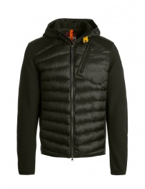Parajumpers Nolan sycamore hooded down jacket fabric sleeves online