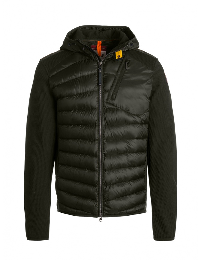 Parajumpers Nolan sycamore hooded down jacket fabric sleeves PMJCKWU02 NOLAN SYCAMORE 764 mens jackets online shopping