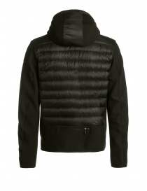 Parajumpers Nolan sycamore hooded down jacket fabric sleeves