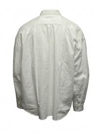 Kapital anorak shirt in white twill