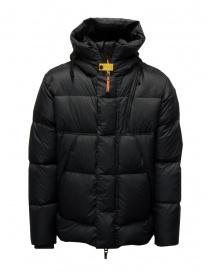 Parajumpers Cloud black hooded down jacket online