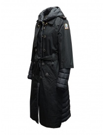 Parajumpers Ronney black padded trench coat