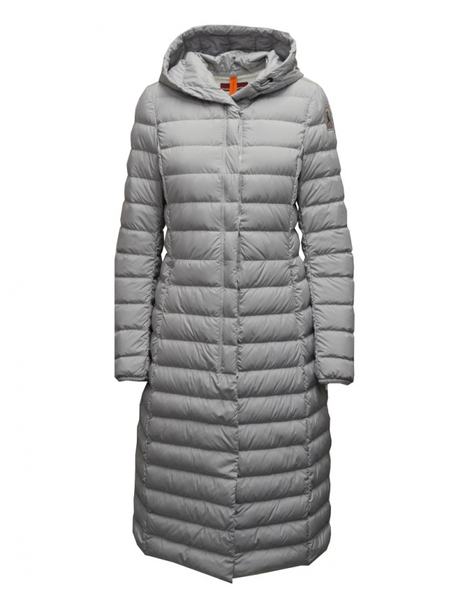 Parajumpers Omega long down jacket in grey PWJCKSL37 OMEGA PALOMA 739 womens jackets online shopping