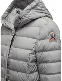 Parajumpers Omega long down jacket in grey womens jackets buy online