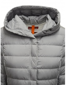 Parajumpers Omega long down jacket in grey womens jackets price