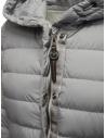 Parajumpers Omega long down jacket in grey price PWJCKSL37 OMEGA PALOMA 739 shop online