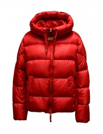 Parajumpers Tilly short red down jacket online