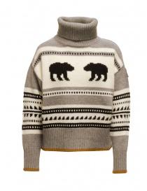 Parajumpers Koda turtleneck sweater with bears PWKNIKN55 KODA ATMOSPHERE