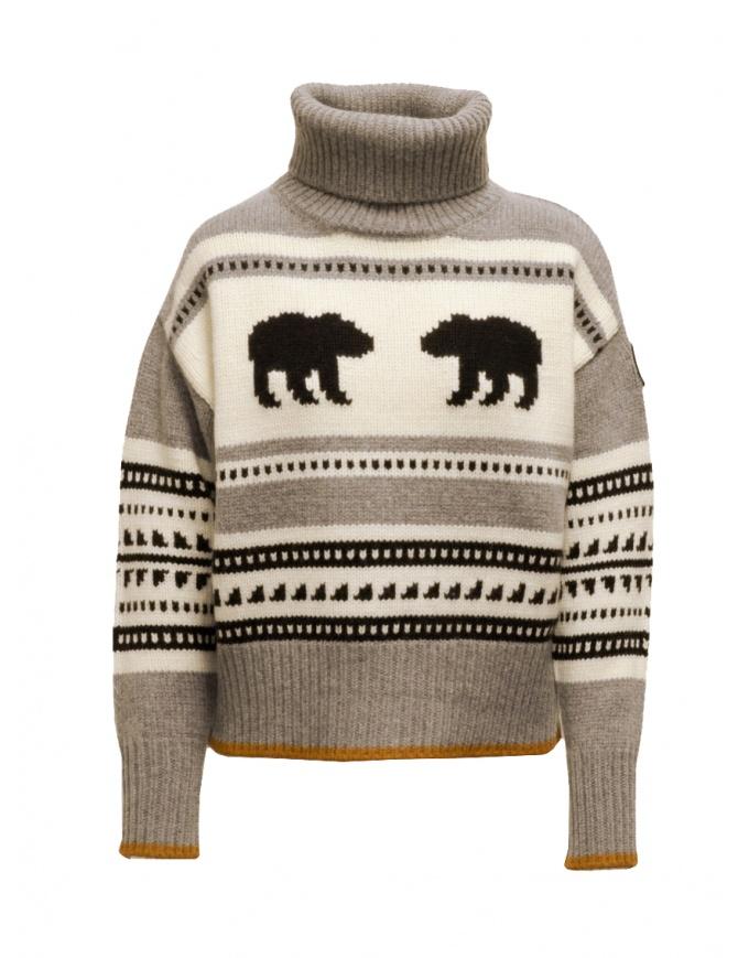 Parajumpers Koda turtleneck sweater with bears PWKNIKN55 KODA ATMOSPHERE womens knitwear online shopping