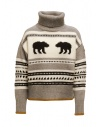 Parajumpers Koda turtleneck sweater with bears buy online PWKNIKN55 KODA ATMOSPHERE