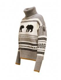 Parajumpers Koda turtleneck sweater with bears buy online