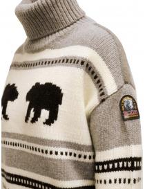 Parajumpers Koda turtleneck sweater with bears womens knitwear buy online