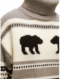 Parajumpers Koda turtleneck sweater with bears womens knitwear price