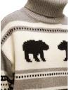 Parajumpers Koda turtleneck sweater with bears price PWKNIKN55 KODA ATMOSPHERE shop online