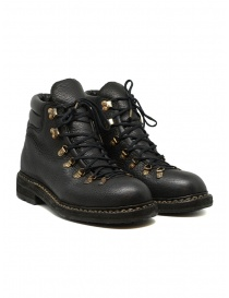 Guidi 19 bison leather ankle boots