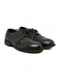 Calzature uomo online: Guidi 992 scarpe in pelle di cavallo marrone scuro