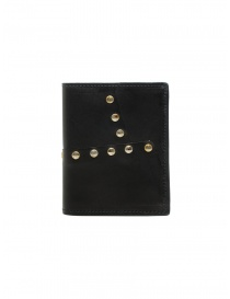 Guidi PT3_RV wallet in kangaroo leather with studs