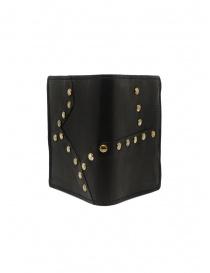 Guidi PT3_RV portafoglio in pelle canguro con borchie