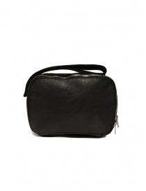 Guidi W6 handbag in black horse leather