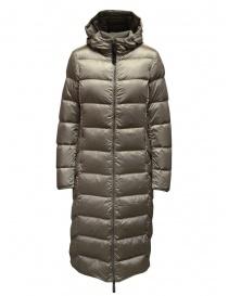 Parajumpers Leah beige long down jacket