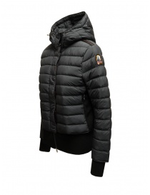 Parajumpers Oceanis 411 black down jacket with wool sides