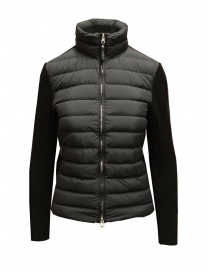 Parajumpers Farr black wool and down jacket