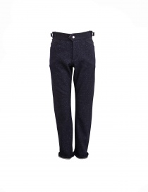 White Mountaineering navy trousers WM1273420NAV order online