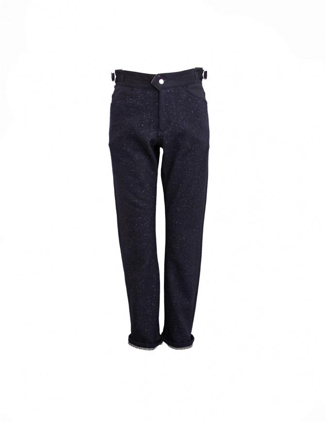 Pantalone White Mountaineering colore navy WM1273420NAV pantaloni uomo online shopping